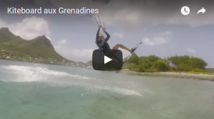 Kiteboard aux Grenadines